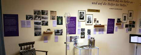 Ausstellungsraum im EKW